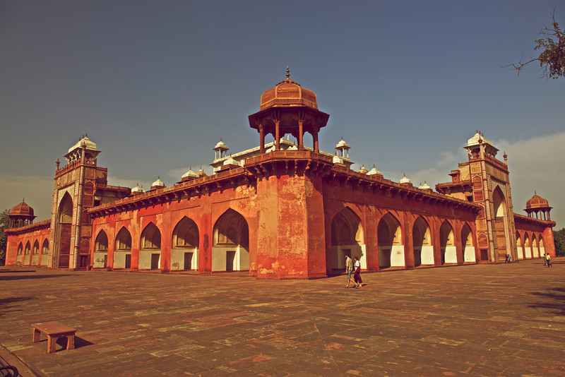 Akbar's Tomb, Agra, India