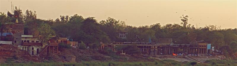 Banks of Yamuna, Agra, India