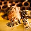 Preparacion de la copa de la abeja reina