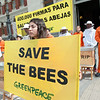 Apicultores y activistas de Greenpeace entregan en el Ministerio de Agricultura 400.000 firmas para salvar las abejas