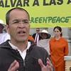 Declaraciones de Luís Ferreirim, responsable de la campaña de Agricultura de Greenpeace