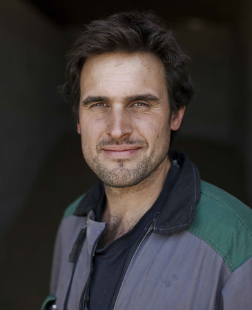 Portrait of Ecological Farmer in France