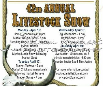 LA PORTE - 42nd Annual Livestock Show
