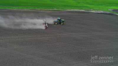Rolling Planted Ground - John Deere - Video Footage- John Deere - Video Footage
