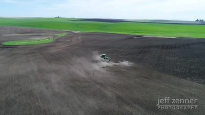 Harrowing / Field Work - John Deere - Video Footage - John Deere - Video Footage