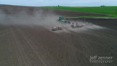 Rolling Planted Ground - John Deere - Video Footage- John Deere - Video Footage