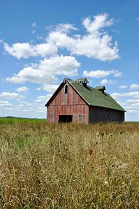 Champaign Red Barn-0381