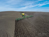 Planting Wheat in Idaho using a John Deere 9630T Tractor & Air Drill.
