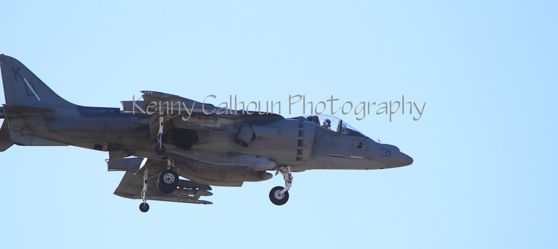 Harrier Jet, Yuma