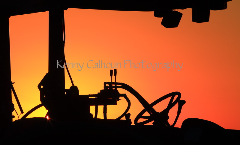 Tractor Sunset 2