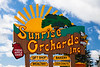 Sunrise Orchards Sign, Crawford County, Wisconsin