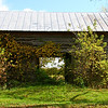 Decaying barn gives a glimpse of time past.