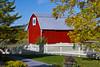 A country barn along Highway 119 in Michigan's Lower Penninsula, USA.