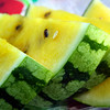 Yellow watermelon? True enough, it is. Delicious and beautiful