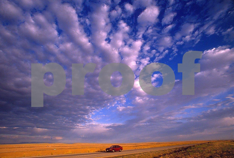 Wheat, clouds, car 1 06 066