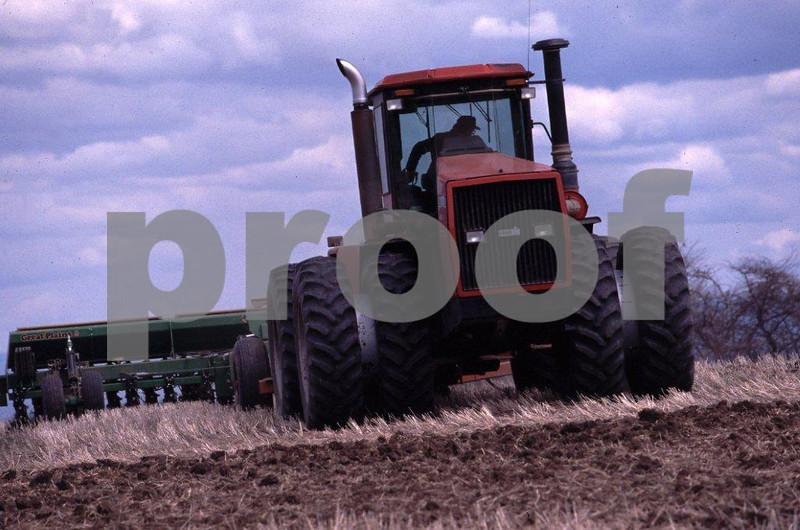 Tractor no-till 1
