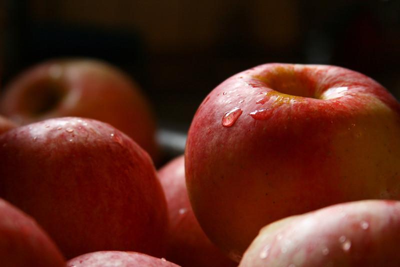 Ah, fresh, moist, delicious apples.