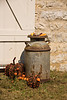 Milk Can in Autumn, Winneshiek County, Iowa