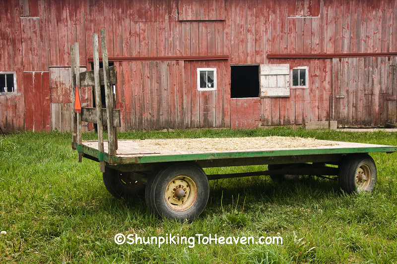 Hay Wagon, Johnson County, Iowa