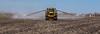 The AirMax 1000 Terra-Gator granular fertilizer spreader on the Froese farm near Winkler, Manitoba, Canada.