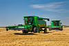 The World Harvest for Kids event and Guinness World Record set with 200 combines near Winkler, Manitoba, Canada.