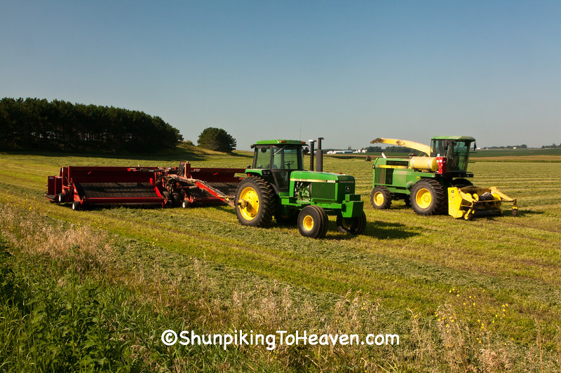 Hay Harvest, Columbia County, Wisconsin