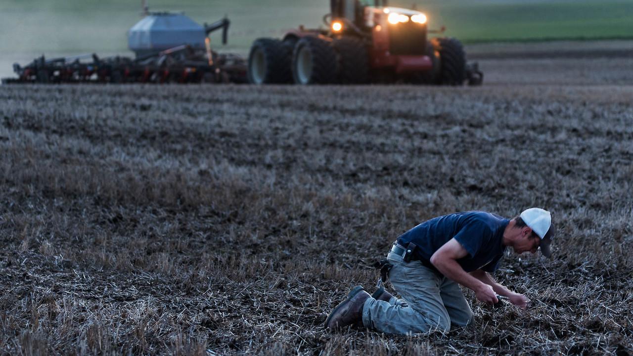 Equipment - Checking Seed Depth