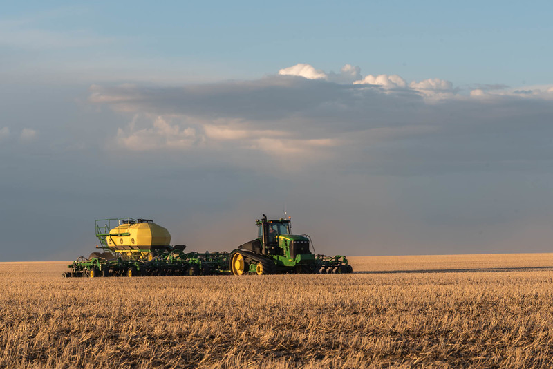 No-Till Seeding - Lethbridge County