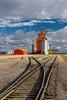The Pioneer inland grain handling terminal near Swan River, Manitoba, Canada.