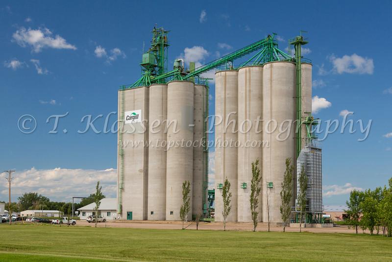 A Cargill inland grain terminal at Dauphin, Manitoba, Canada.