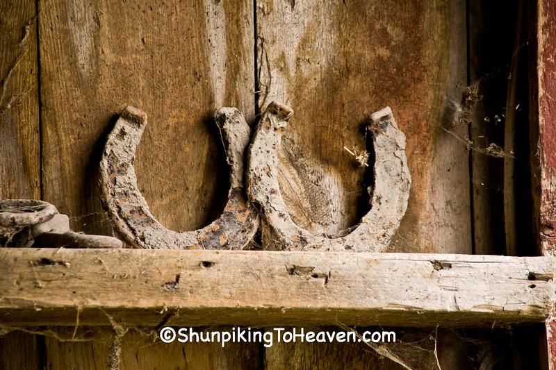 Rusty Old Horseshoes, Delaware County, Iowa