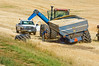 Equipment problems during the wheat harvest