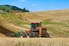 Spring ground preparation prior to planting garbanzo  beans in the Palouse region of Washington