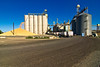 Grain storage facility in Lewiston, Idaho