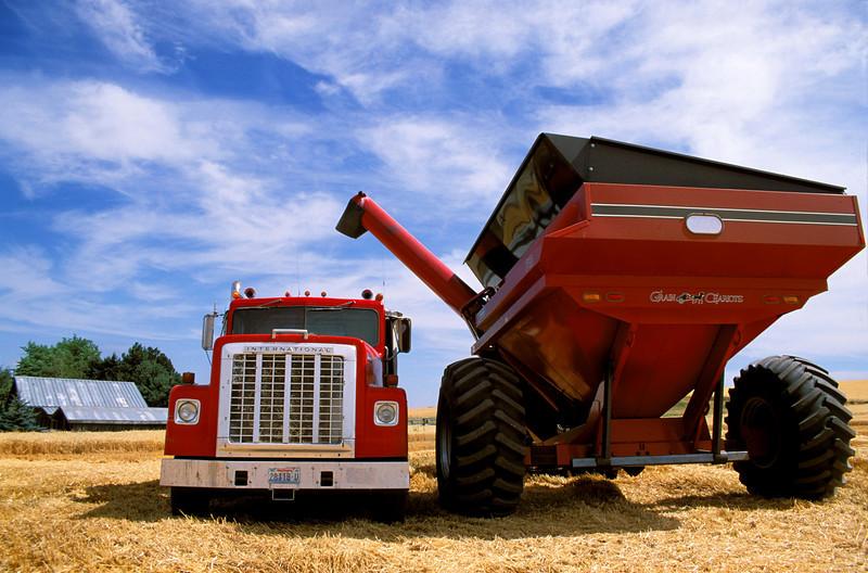 Truck and grain cart