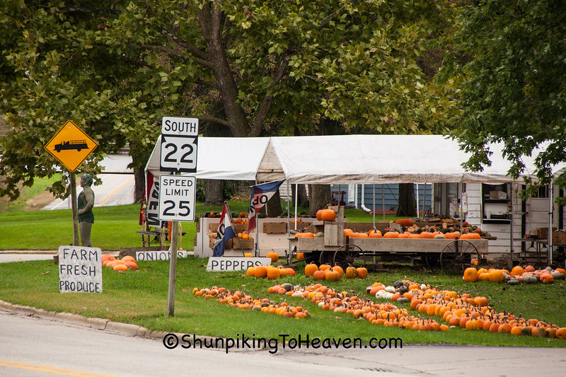 Roadside Produce Stand, Columbia County, Wisconsin