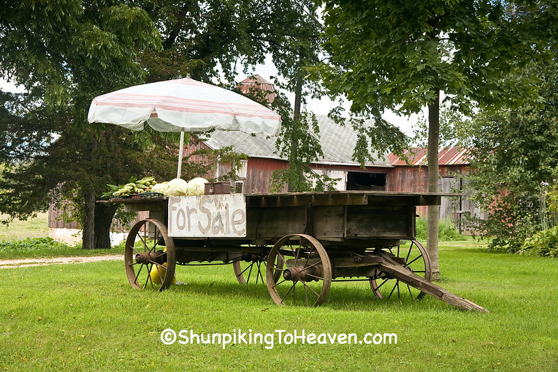 Farm Vegetable Stand, Rock County, Wisconsin