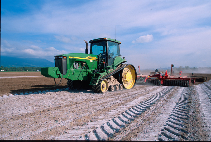 Seed bed preparation prior to planting potatoes in Skagit County, WA