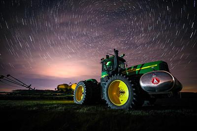 Planting Star Trails