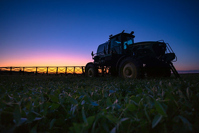 Sprayer Sunset