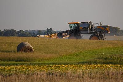 Pre-Harvest Spraying