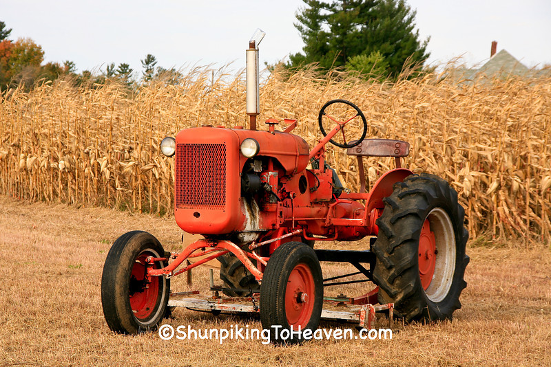Antique Allis Chalmers Tractor, Dunn County, Wisconsin