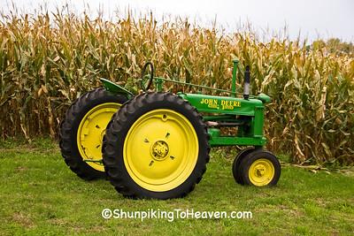 Vintage John Deere Tractor, Trempealeau County, Wisconsin