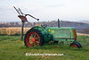 Antique Oliver 70 Rowcrop Tractor, Houston County, Minnesota
