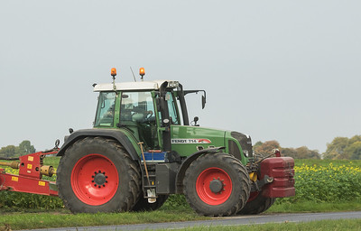 Fendt 714 Vario in Gevenich.