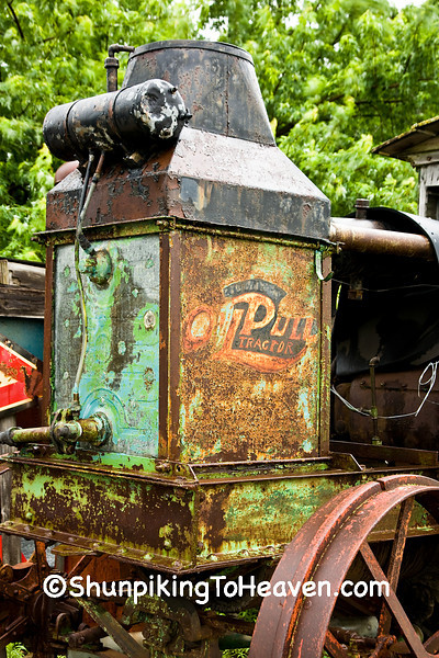 Antique Rumely Oil Pull Tractor, Benton County, Iowa