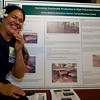 Ivona Ballard of American Samoa presents her project on deep litter pens for pigs.