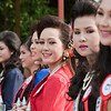 Chanthaburi pagent contestants participate in the parade and several other events during the festival.