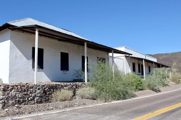 Hotel complex at Agua Caliente (2018)