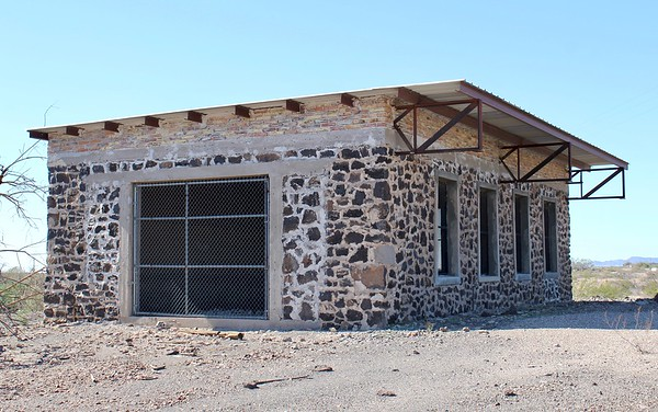 Stone building at Agua Caliente (2018)
